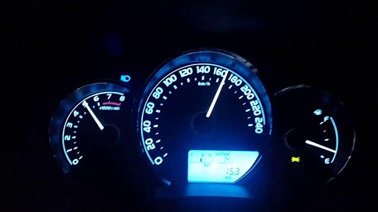 toyota corolla 2016 gli 1.3l top speed (170 km/h) - youtube