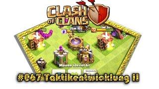 Let's play Clash Of Clans #067 - Taktikentwicklung II[Deutsch / German][LP iOS IPhone]