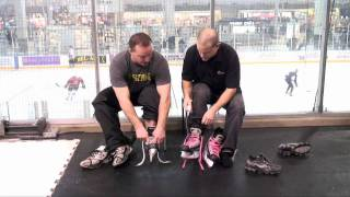 Active Basics_NHL Pro Shows How to Tie Skates