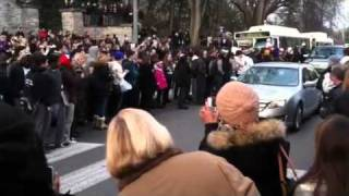 Joe Paterno funeral procession