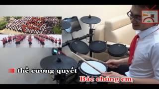 Ai yêu Bác Hồ Chí Minh hơn thiếu niên nhi đồng ♪ | Drum Cover ♥ | Trống Việt TV
