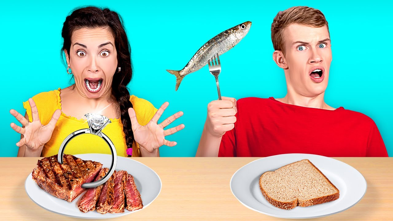 BEST VS WORST FOOD CHALLENGE! WHO WILL WIN? || Mystery Taste Test by 123 GO Like!
