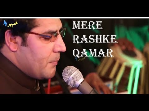 mere rashke qamar by karan khan group in wedding hall peshawar