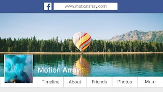 Facebook Promo Slideshow After Effects Templates