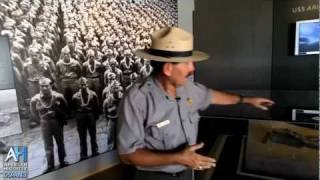 Preview: Pearl Harbor Visitor's Center Tour - NPS Historian Daniel Martinez