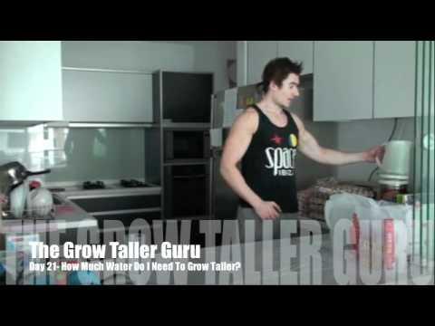how-much-water-do-i-need-to-grow-taller?-gtg-(grow-taller-guru)