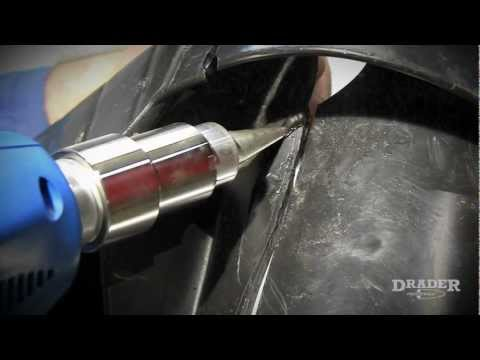 Learn Plastic Welding » Weld And Repair A Garbage Bin With A Plastic Welder