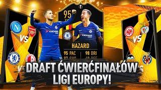 HIT! DRAFT ĆWIERĆFINAŁÓW LIGI EUROPY! *walkout* | FIFA 19