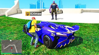 Ich KLAUE das THANOS AUTO in GTA 5 RP!