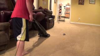 vacuum challenge 2 riccar vs bissell vs dirt devil camera 2