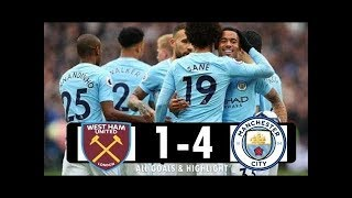 West Ham vs Manchester City 1-4 -  Premier League  29.04.2018