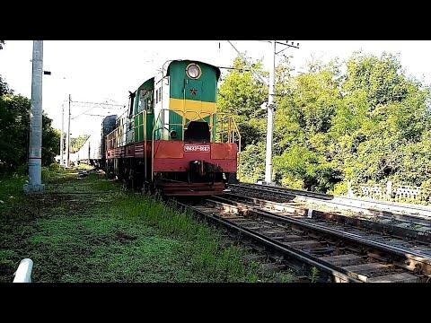 ЧМЭ3Э-6667 С поездом Нальчик-Москва