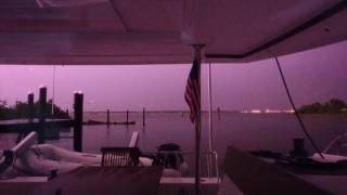 Lightning Storm On The Catamaran May 2016