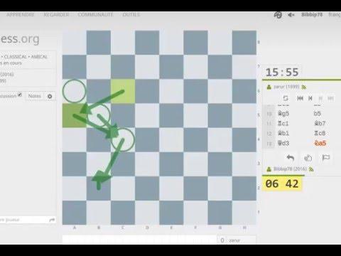 Blindfold Chess #1 - Echecs Partie commentée à l'aveugle - Sicilienne Alapine