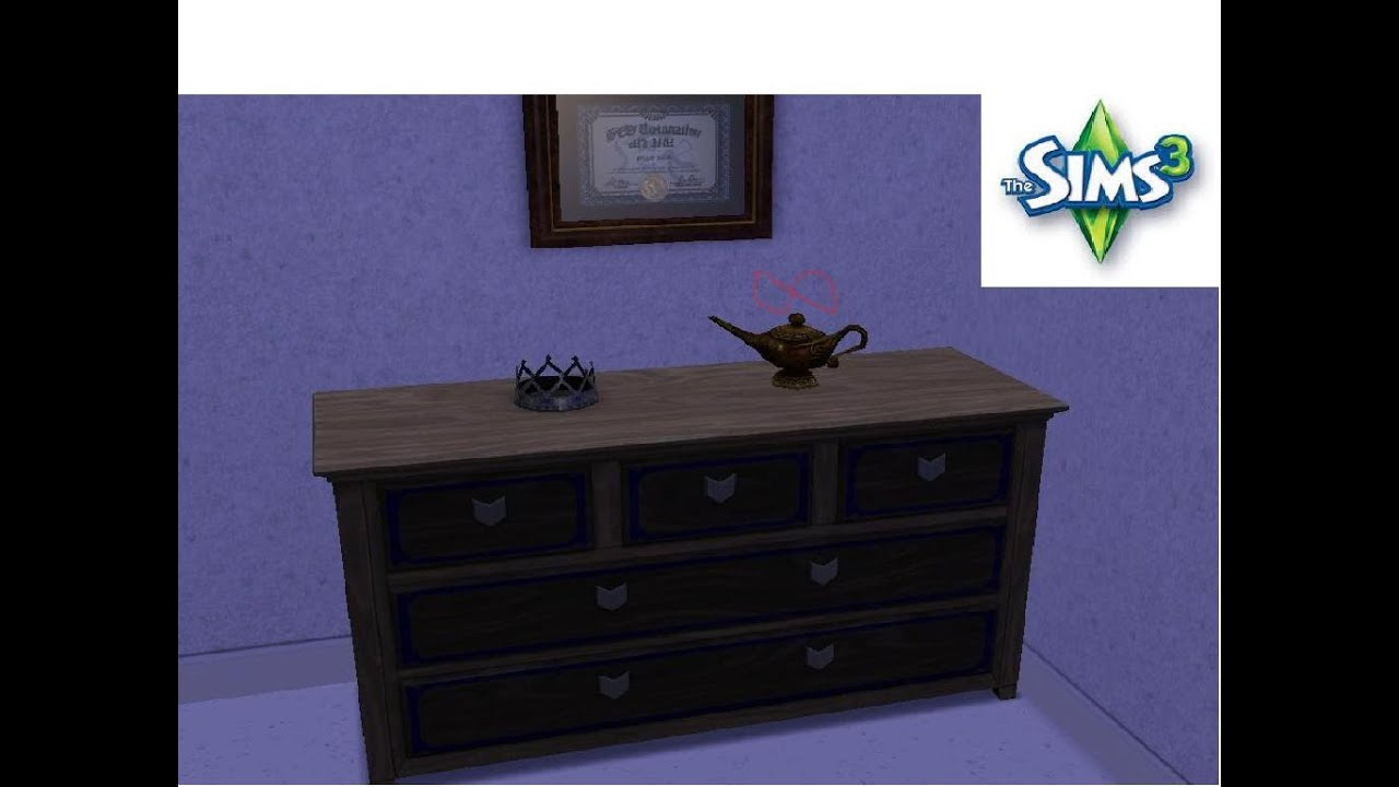The Sims 3: How To Get Infinite Wishes From Genie Lamp ...