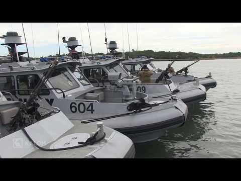 U.S. Navy Patrol Boats: Coastal Riverine Squadron Four