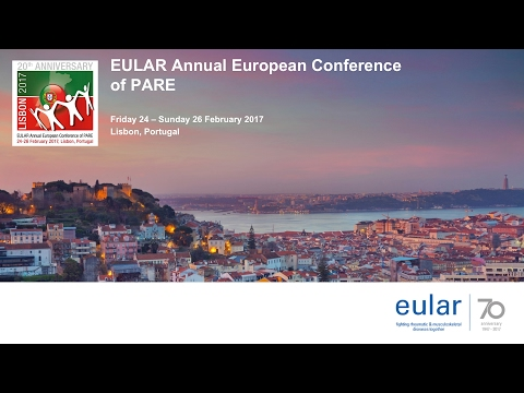 EULAR ANNUAL EUROPEAN CONFERENCE of PARE 2017 - Day 1