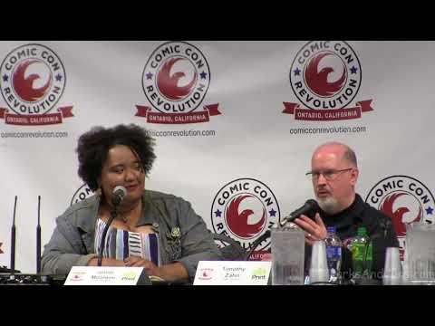 """""""THRAWN!"""" Panel Timothy Zahn Joelle Monique Comic Con Revolution CCR Ontario Convention Center May"""