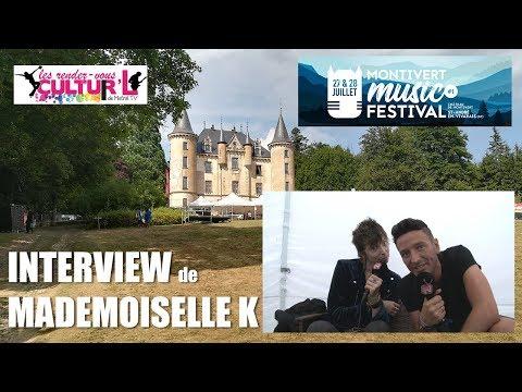 2018 07 27   RDV Cultur'L    avec mademoiselle K au Montivert Music Festival