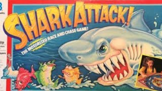 Ep. 179: Shark Attack! Board Game Review (Milton Bradley 1988)