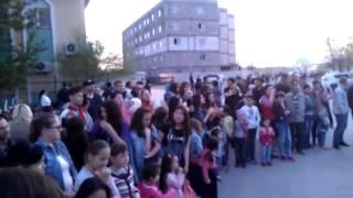 атырау (лезгинка на алее 01.04.2014)