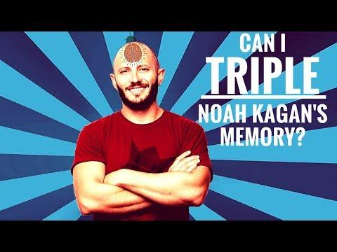 Tripling Noah Kagan's Memory & Learning... In 20 Minutes Flat