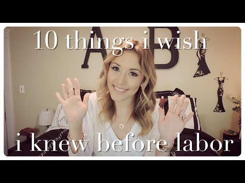10 things i wish i knew before labor | collab with twins and toddlers