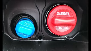 How to refill or top up your AdBlue and where to find your filler cap. Universal Tutorial