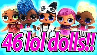 HUGE LOL Surprise Doll Collection Haul Featuring Rare Lol Dolls Unicorn and Independent Queen!