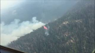 California National Guard Drops Fire Retardant on Yosemite