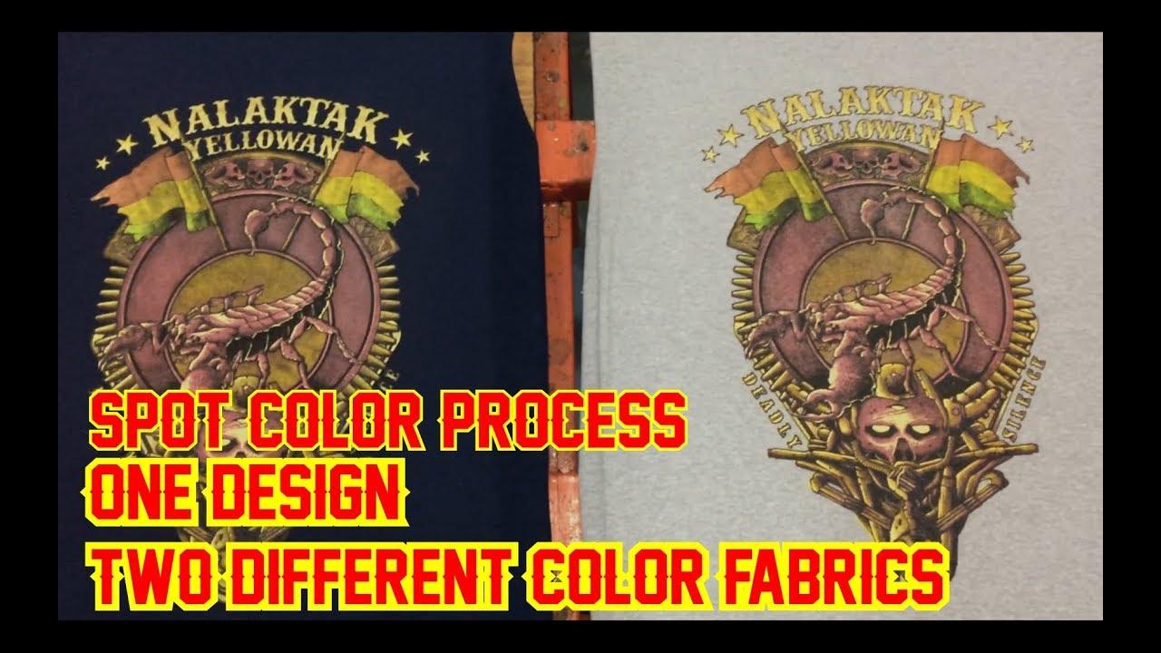 Sablon Kaos Raster Artwork NALAKTAK di Bahan Misty dan Dongker || Plastisol Ink || Screen Printing