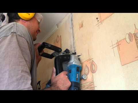 Штроборез по бетону – ремонт должен быть быстрым и эффективным