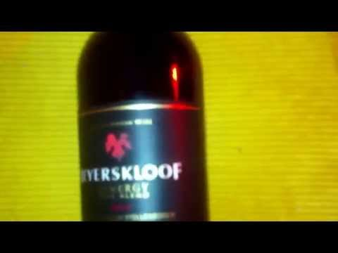 Wine bottle of Beyerskloof Synergy Cape Blend from Stellenbosch in South Africa