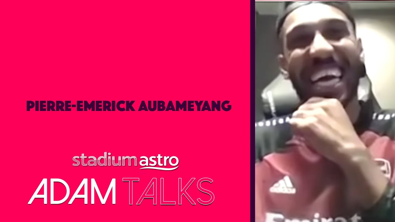 Aubameyang remembers his first visit to Malaysia!! | Astro SuperSport