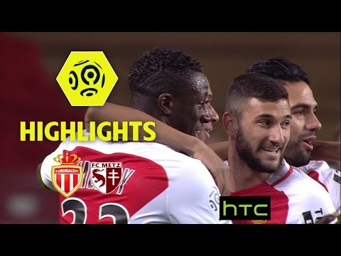 AS Monaco - FC Metz (5-0) - Highlights - (ASM - FCM) / 2016-17