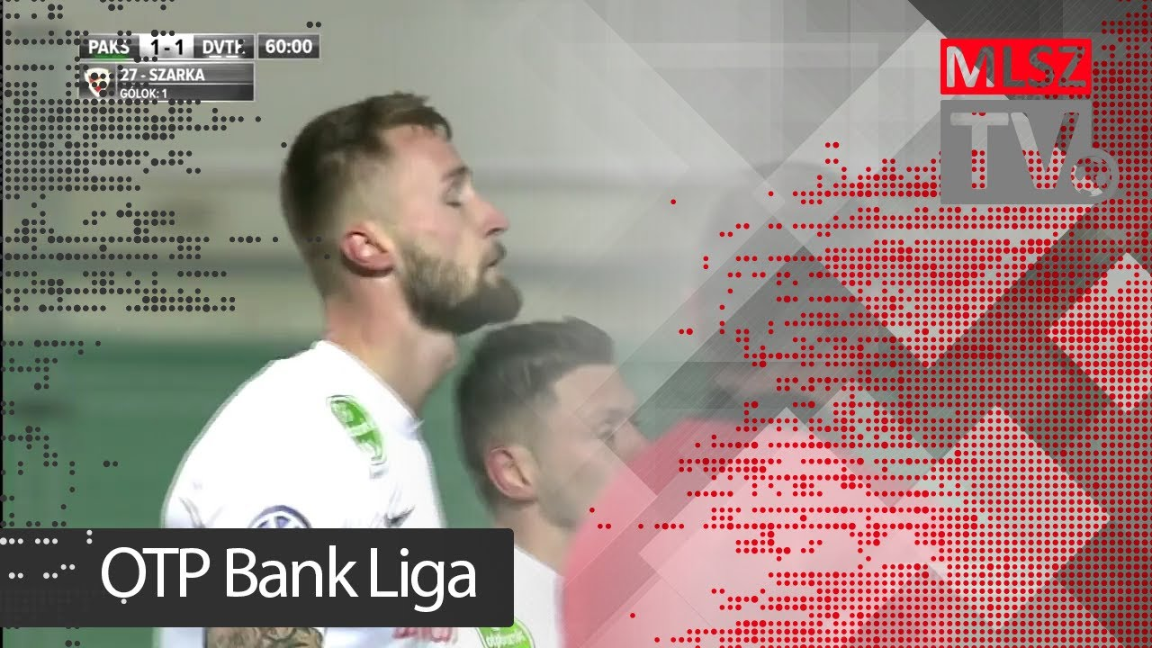 Szarka Ákos gólja a Paksi FC - DVTK mérkőzésen
