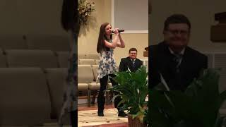 Natalie sang at her grandfathers funeral! Dancing in the sky!