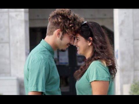 Touching Nose to Nose (Social Experiment)
