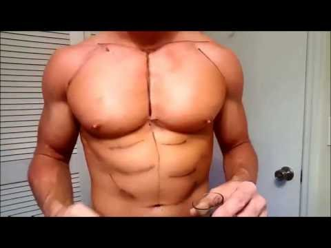 How to Contour Abs - Make muscles POP in 5 minutes