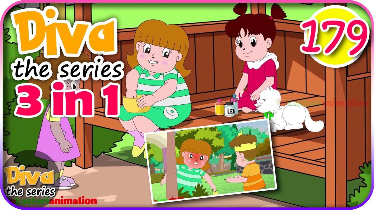 Seri Diva 3 in 1 | Kompilasi 3 Episode ~ Bagian 179 | Diva The Series Official