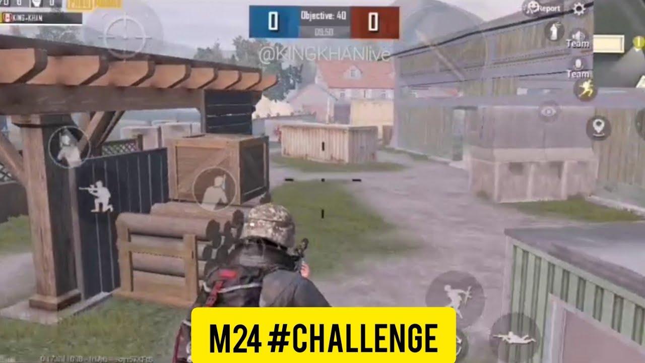 M24 challenge in TDM match friendly pubg challenge