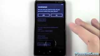How To Factory Reset Your Windows Phone
