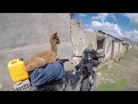 A day of bikepacking in Peru