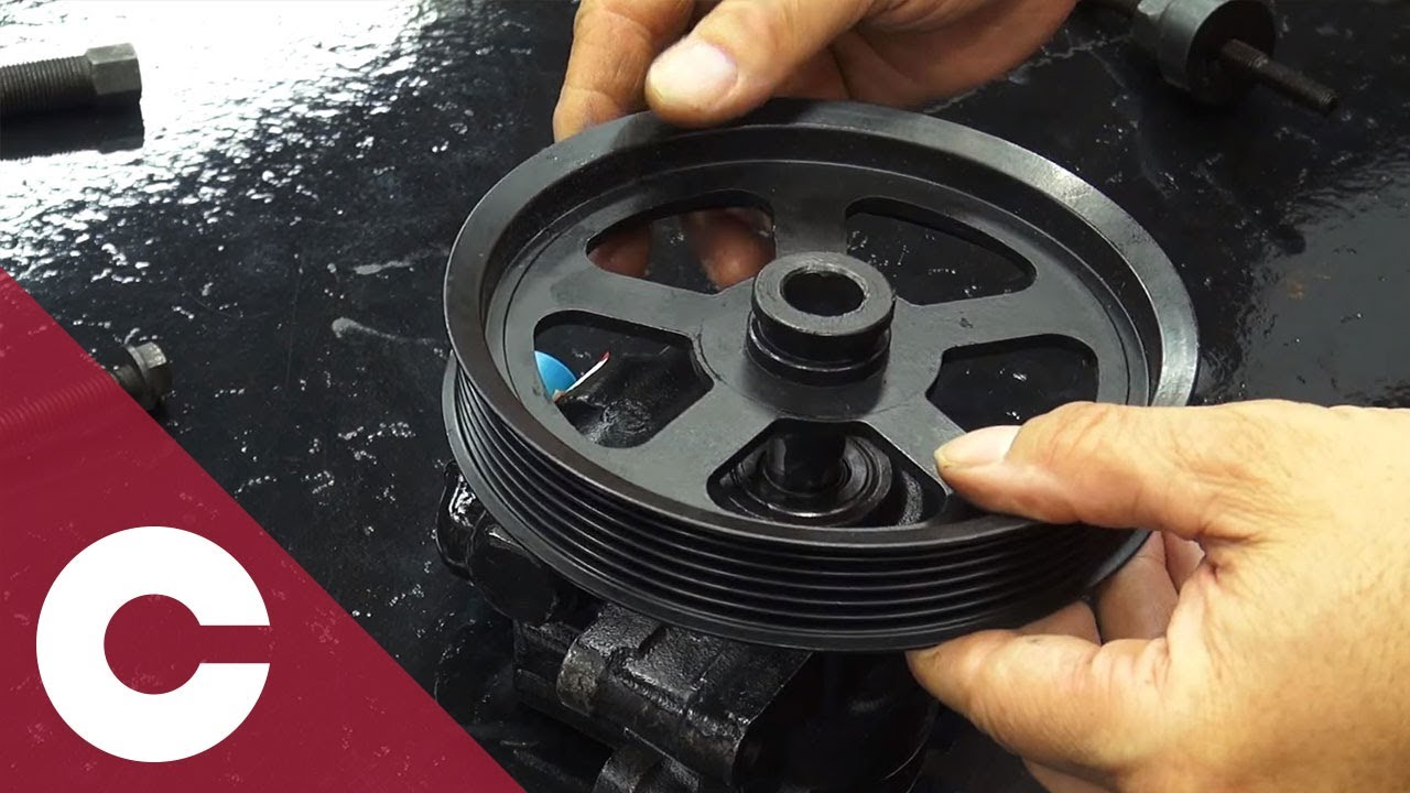 hight resolution of how to properly install a power steering pulley