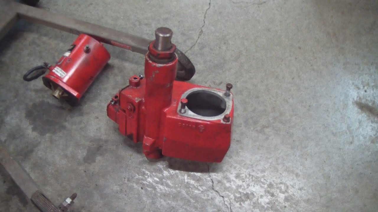 Western Snow Plow Head or Pump Rebuild on