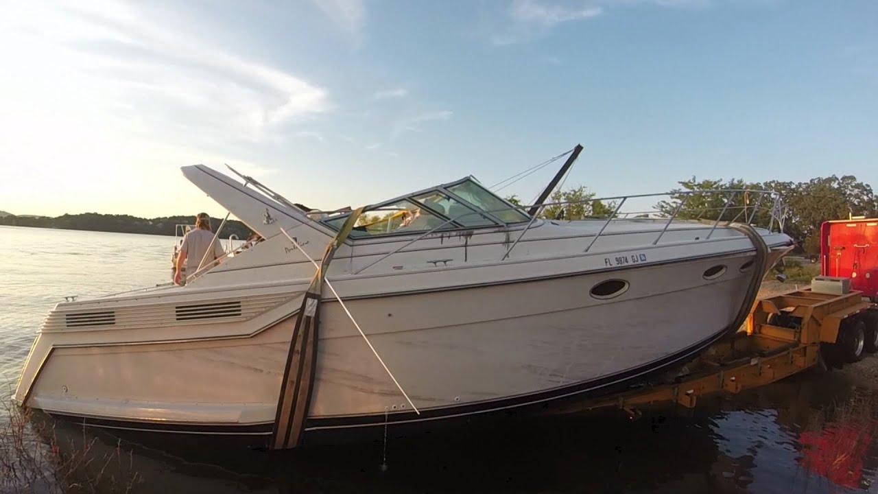 Sunken Boat Recovery On Table Rock Lake