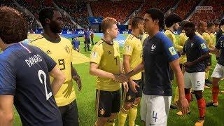 FIFA 18 World Cup 1/2 Final - France vs Belgium