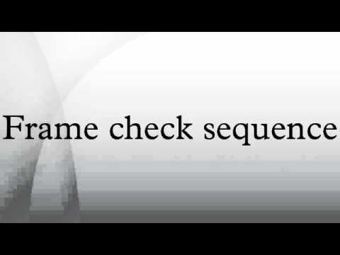 Frame check sequence - YouTube