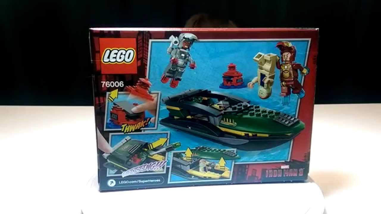 Marvel iron man 3 extremis sea port battle set 76006 - Lego iron man extremis sea port battle ...