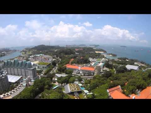 Tiger Sky Tower @Sentosa Island in Singapore
